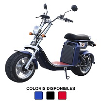 Scooter électrique type Chopper SUN 50