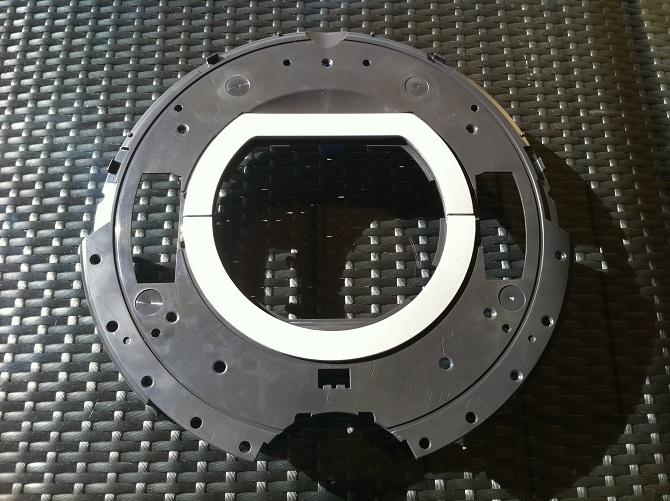 Chassis Superieur Noir Irobot Roomba Serie 700
