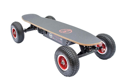 SKATEBOARD ELECTRIQUE CROSS 1000 V4 Batterie Lithium 20
