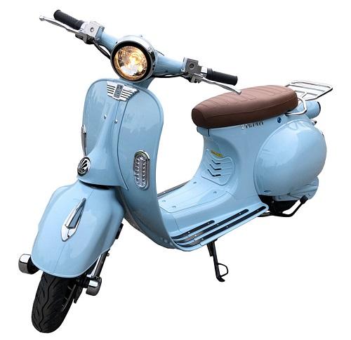 scooter lectrique 2 twenty roma 57 2900w bleu azur. Black Bedroom Furniture Sets. Home Design Ideas