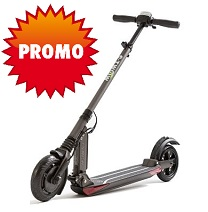 Trottinette Electrique eTwow Booster S + Confort Grise