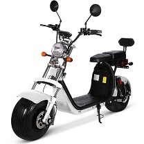 Scooter électrique type Chopper  X10 Bi-place