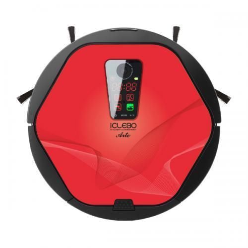 Aspirateur Robot ICLEBO Arte Rouge