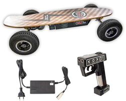 SKATEBOARD ELECTRIQUE CROSS 1000 V3 Batterie Lithium 24